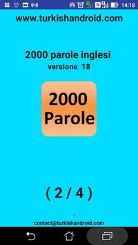 2000 parole inglesi utilizzati screenshot 7