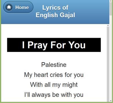 English Gazal Lyrics screenshot 15