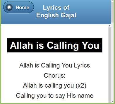 English Gazal Lyrics screenshot 17