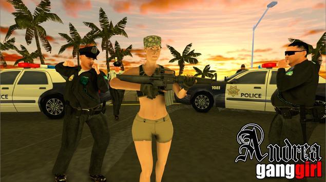 Andrea Gang Girl apk screenshot