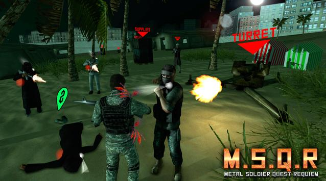 M.S.Q.R: Metal Soldier Quest R apk screenshot