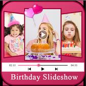 Birthday Photo Slideshow icon