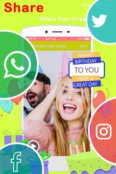 Birthday Photo Slideshow screenshot 3