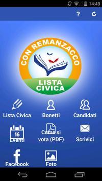 Bonetti sindaco poster