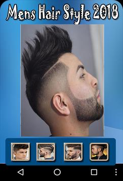 Men hairstyle set my face 2018 poster