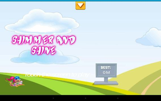 Shimer and Shine Runner apk screenshot