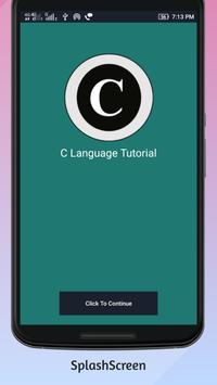 C Language Tutorial poster
