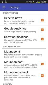 Paragon UFSD Root Mounter screenshot 4