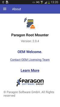 Paragon UFSD Root Mounter screenshot 5