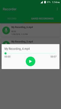 Recorder apk screenshot