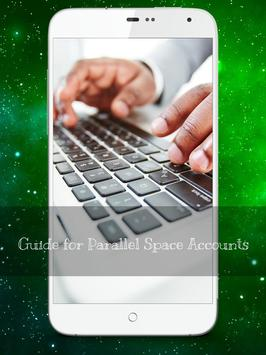 Guide Parallel Space Whatsapp poster