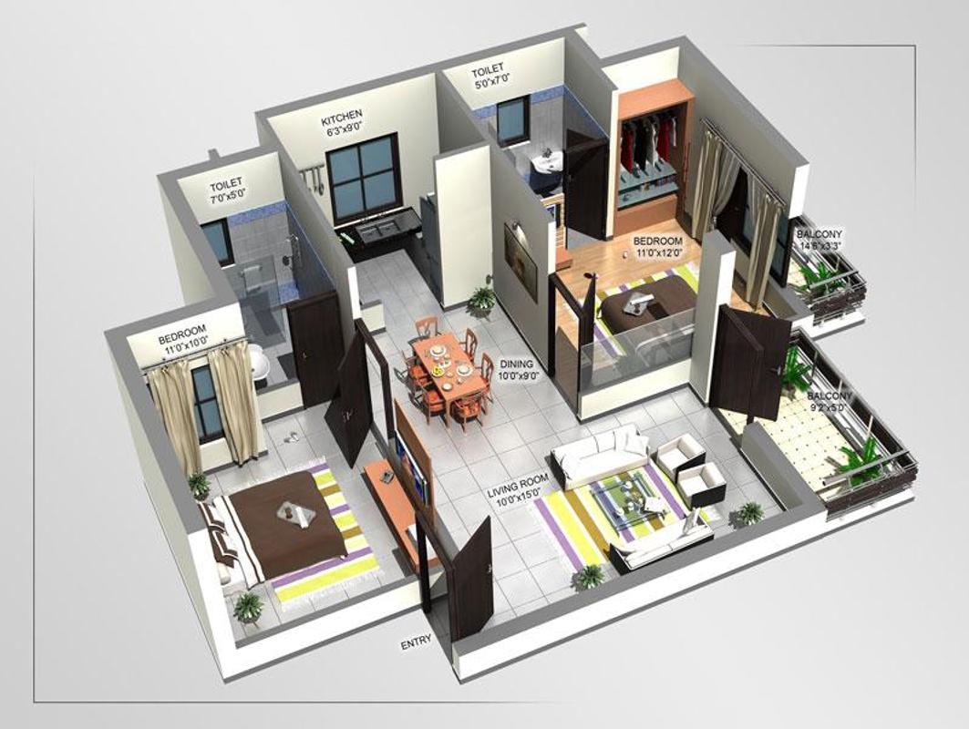 3d Home Designs Layouts APK Download