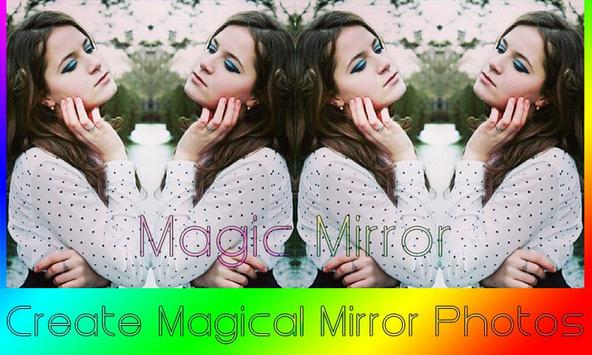 Magic Mirror Photo Effect Cool poster
