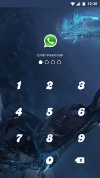 Alien Applock Theme screenshot 2