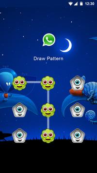 Alien Applock Theme screenshot 1