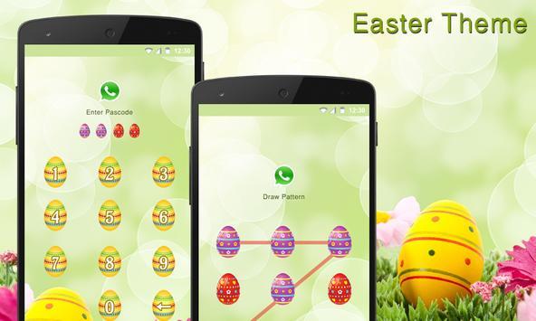 Easter applock theme poster