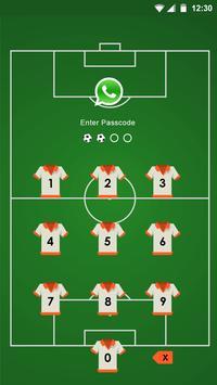 AppLock Theme for Football apk screenshot