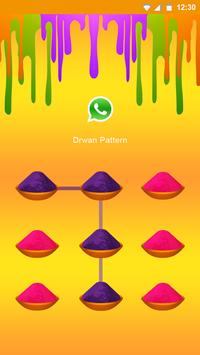 Holi AppLock theme apk screenshot