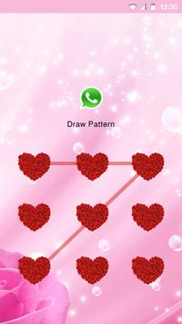 Love rose applock theme apk screenshot