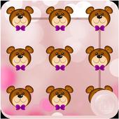 Teddy Bear Applock Theme icon