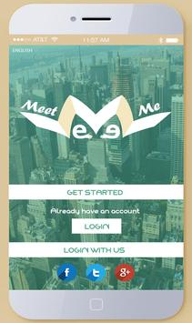Meet Me App poster