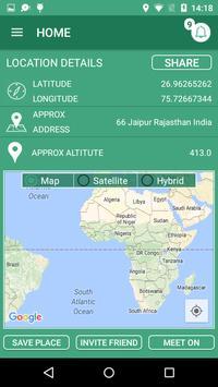 Meet Me App screenshot 1