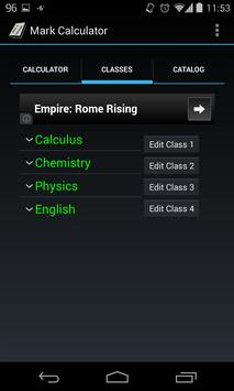 Mark Calculator apk screenshot
