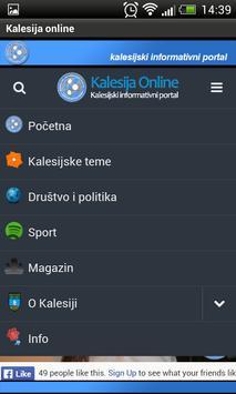 Kalesijski informativni portal apk screenshot