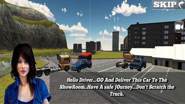 Car Transporter Trailer-Euro Truck Drive 2018 apk screenshot