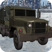 Snow Army Truck Game:Military Cargo Truck Driver icon