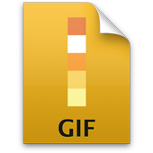 Convert GIF to Video & Share icon