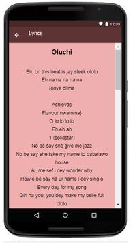 Flavour Songs & Lyrics. screenshot 3