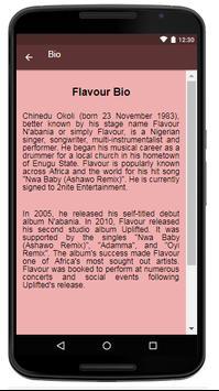 Flavour Songs & Lyrics. screenshot 1