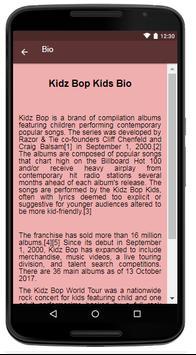 Kidz Bop Kids Songs & Lyrics. screenshot 1