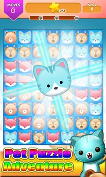 Pop Pet Puzzle Adventure Line screenshot 1