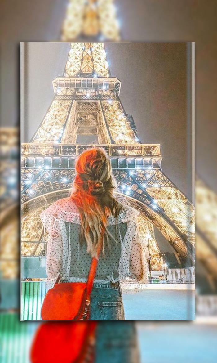 Paris Wallpapers Eiffel Tower City Of Light Girly For Android Apk