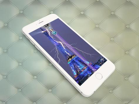Paris Screen Lock Plus apk screenshot