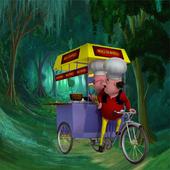 Motu Patlu Jungle Rickshaw icon
