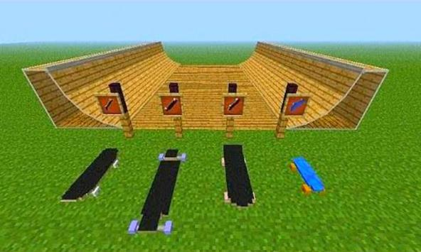 Skateboard Mod - minecraft apk screenshot