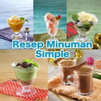 Resep Minuman Simple poster