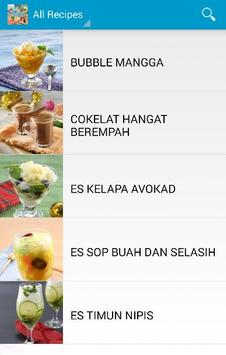 Resep Minuman Simple screenshot 2