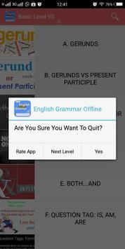 English Grammar Offline poster