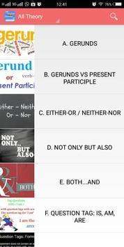 English Grammar Offline apk screenshot