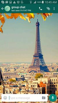 Paris Wallpapers for Chat poster