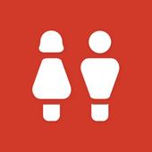 찾아줄게-화장실 개방 공공 korea toilet icon