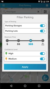 ParkiFi, Real-Time Parking App apk screenshot