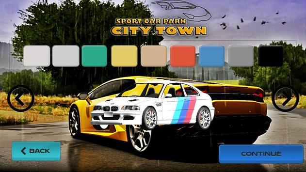 Sport Car Park : City Town apk screenshot