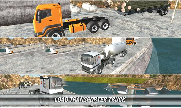 Loaded  Truck Drive Simulator apk screenshot