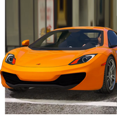 Parking McLaren 12c Simulator Games 2018 icon
