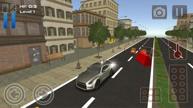 Parking Nissan GT R35 Simulator Games 2018 poster